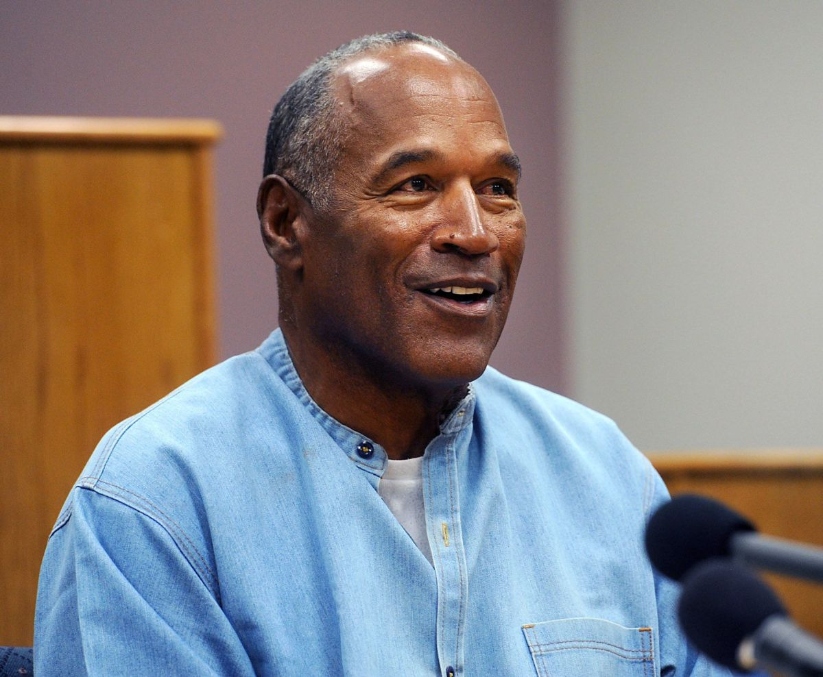 O.J. Simpson speaking at his parole hearing in 2017