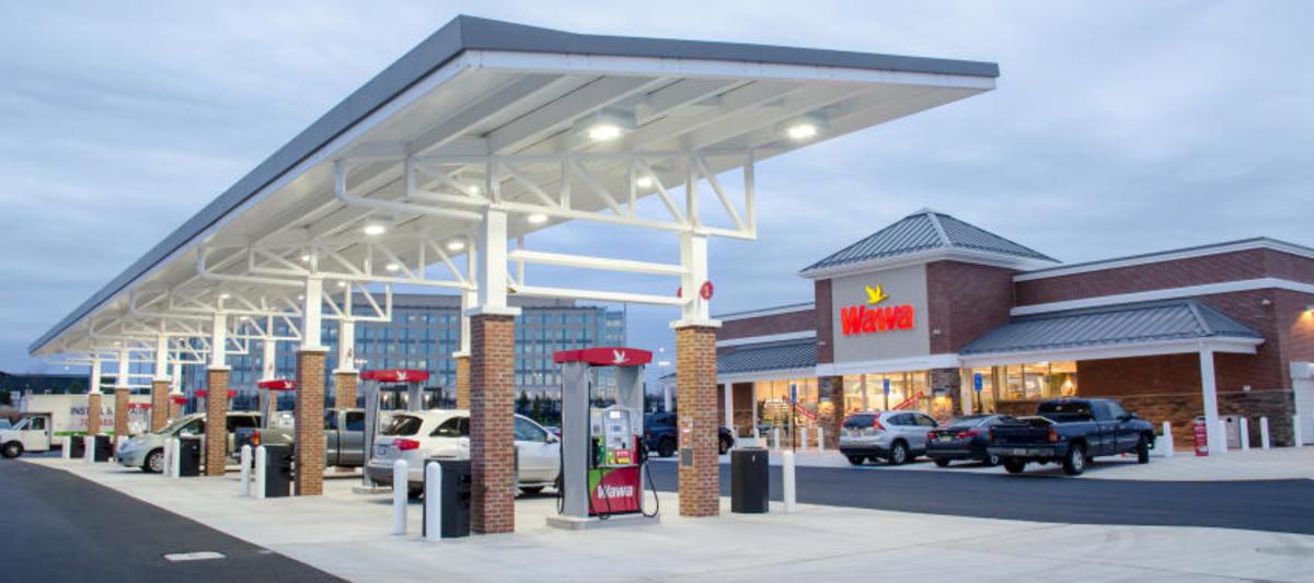 A Super Wawa gas station and market