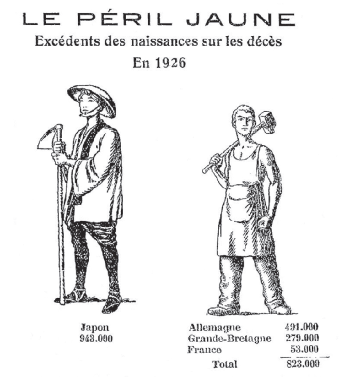 A picture from the book illustrating European pronatalist racial solidarity