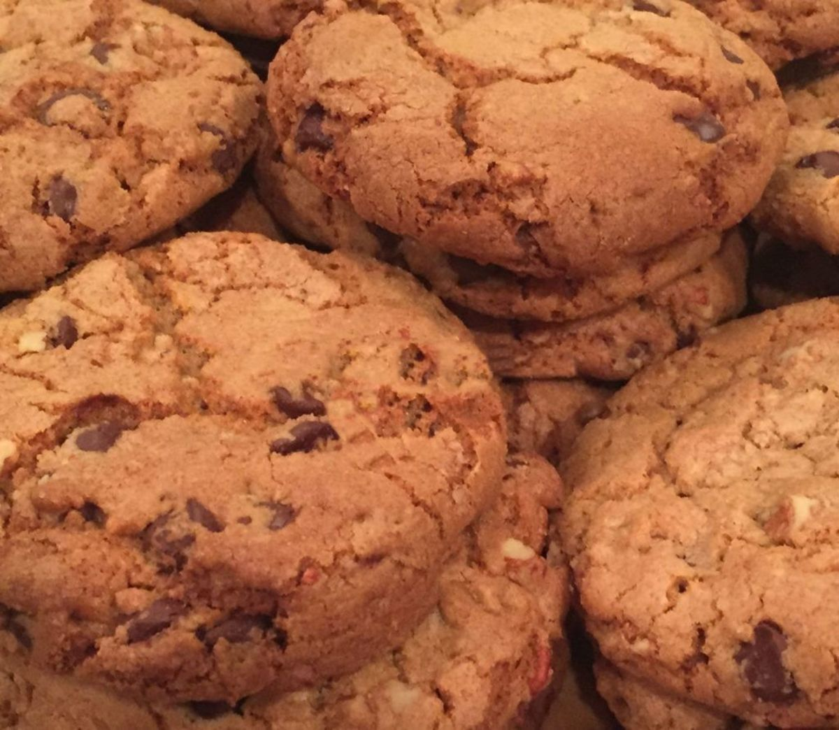 Absolutely the best chocolate chip and pecan cookie you will ever taste.