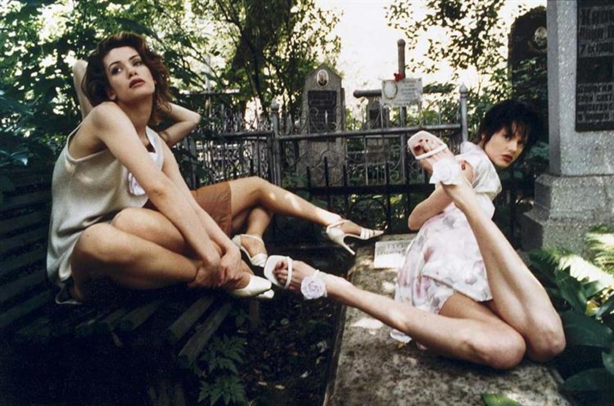 """Fashion in the Graveyard"" by Arsen Savadov"