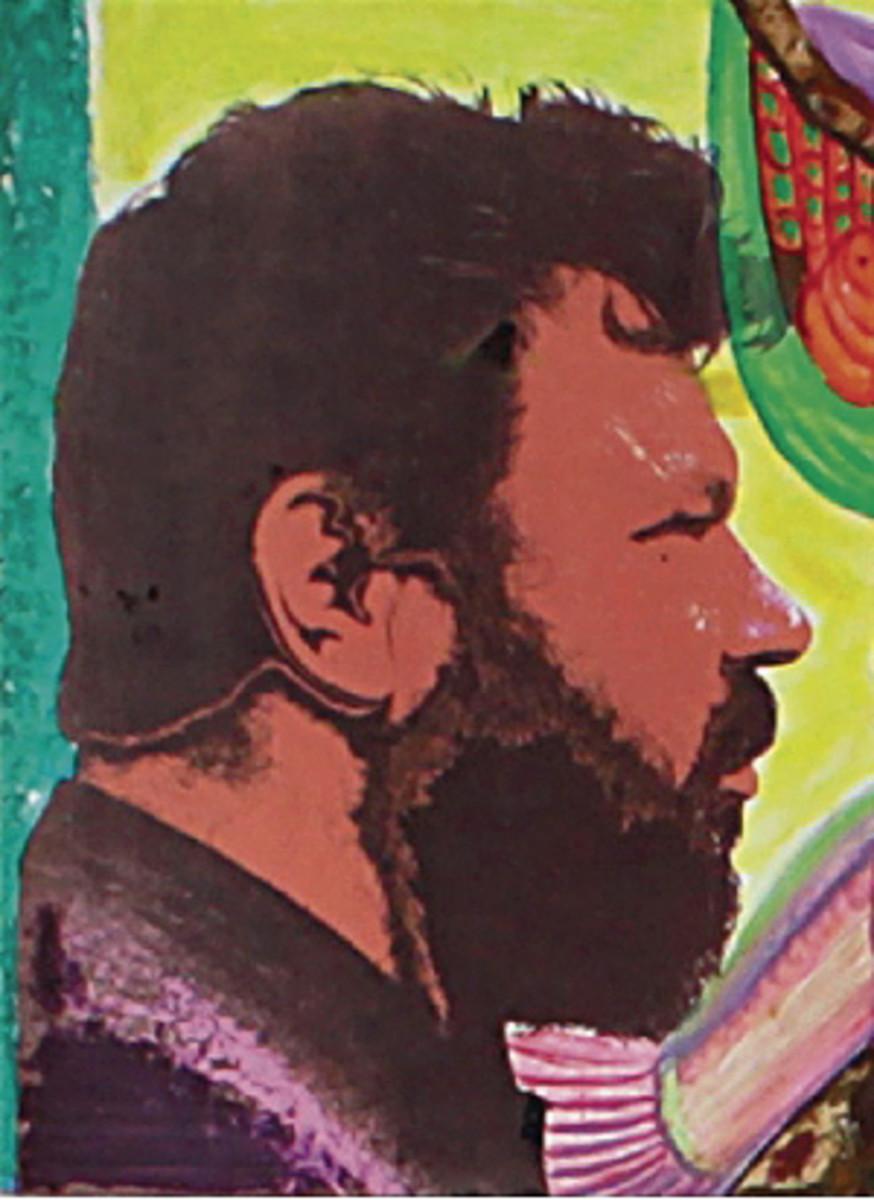 The portrait of the painter