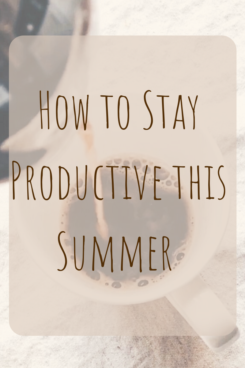 How to Stay Productive This Summer