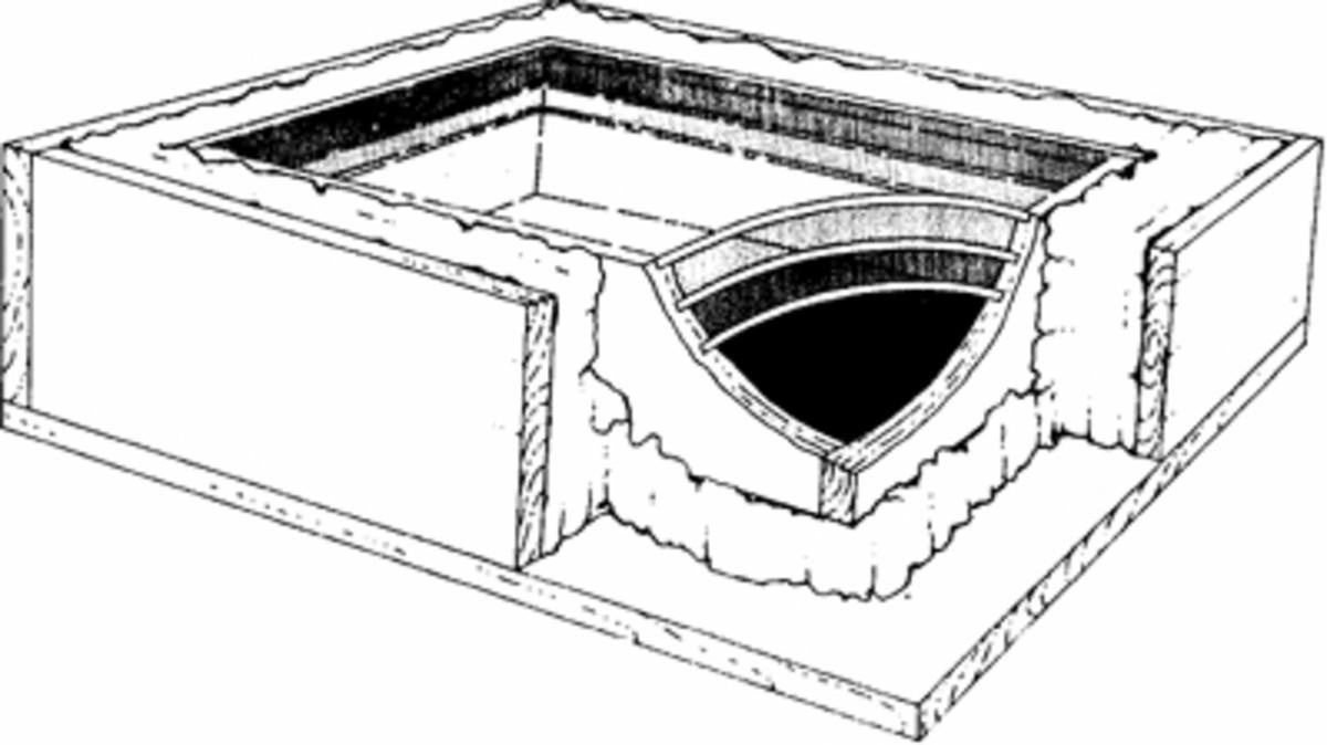 De Saussure's apparatus