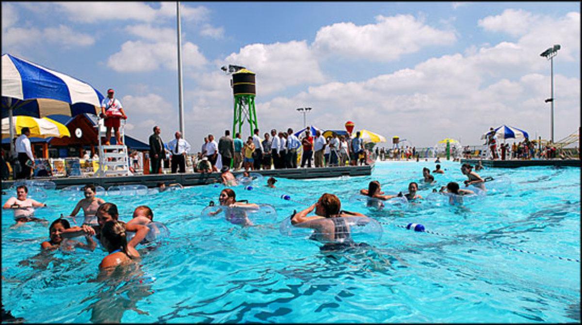Fremont splash station in NE