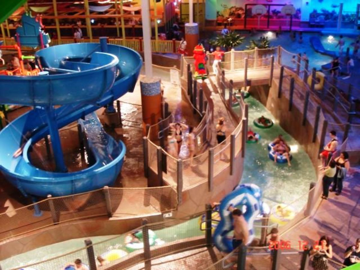 Coco key indoor water resort, Nebraska