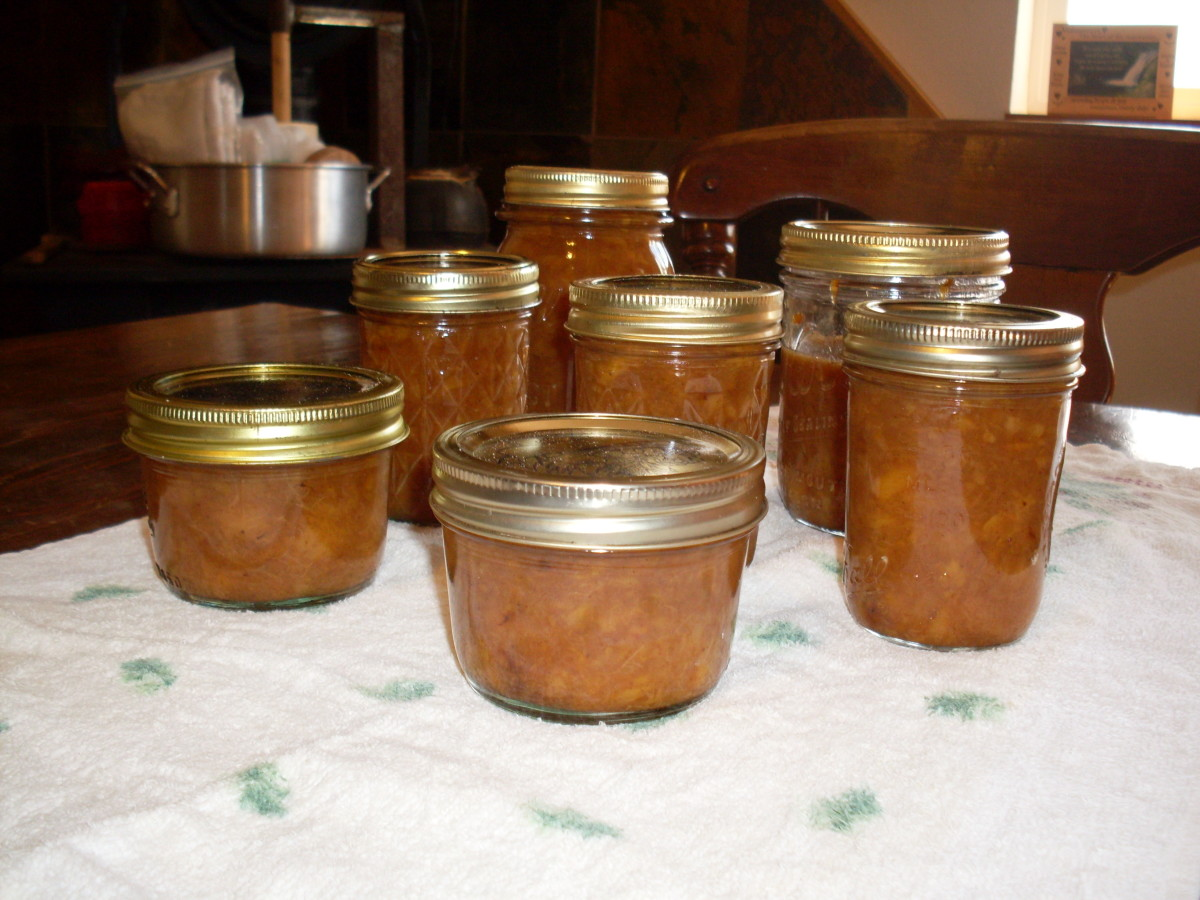 """...remove jars to a towel away from drafts, and let sit overnight. The jars often """"pop"""" or """"ping"""" as they cool and seal. Refrigerate or re-process any unsealed jars."""