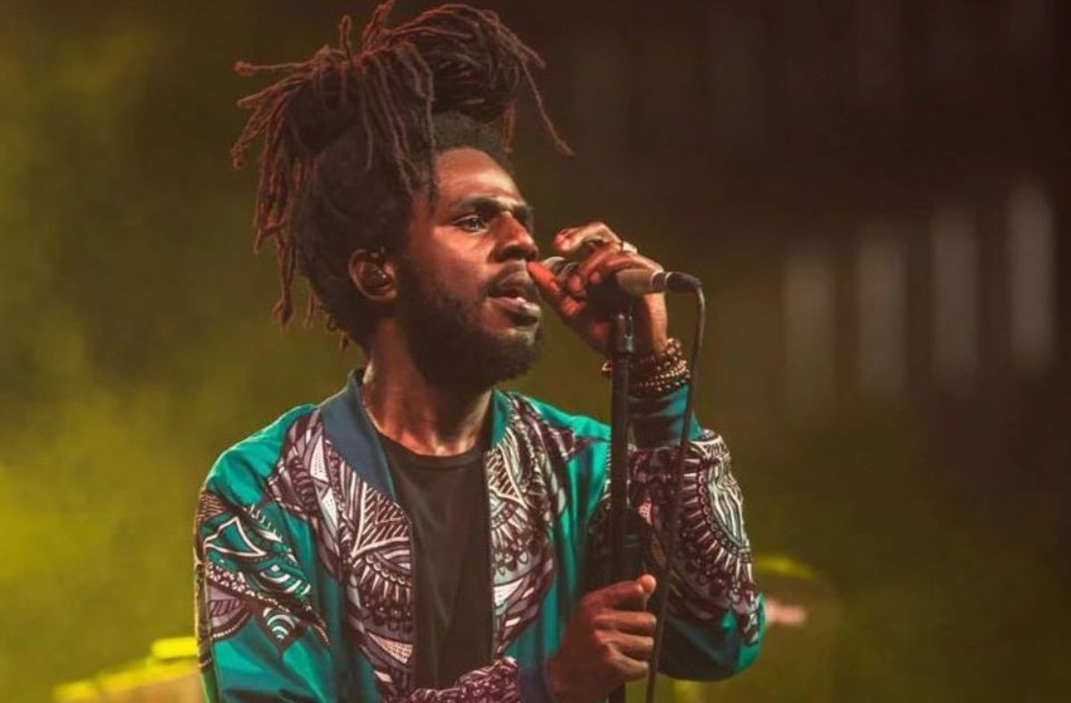 Contemporary reggae artist Chronixx live in concert. Reggae and hip-hop lovers have some shared history