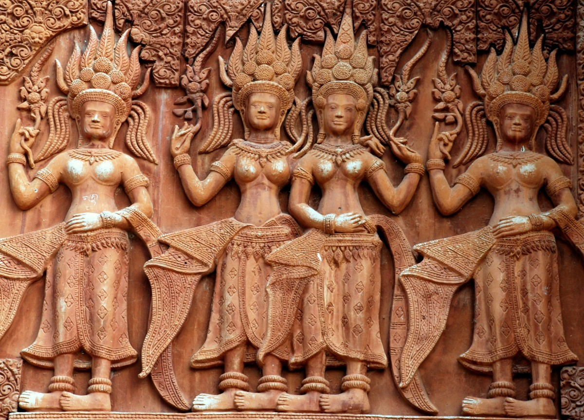 Apsaras, the Legendary Spiritual Dancers
