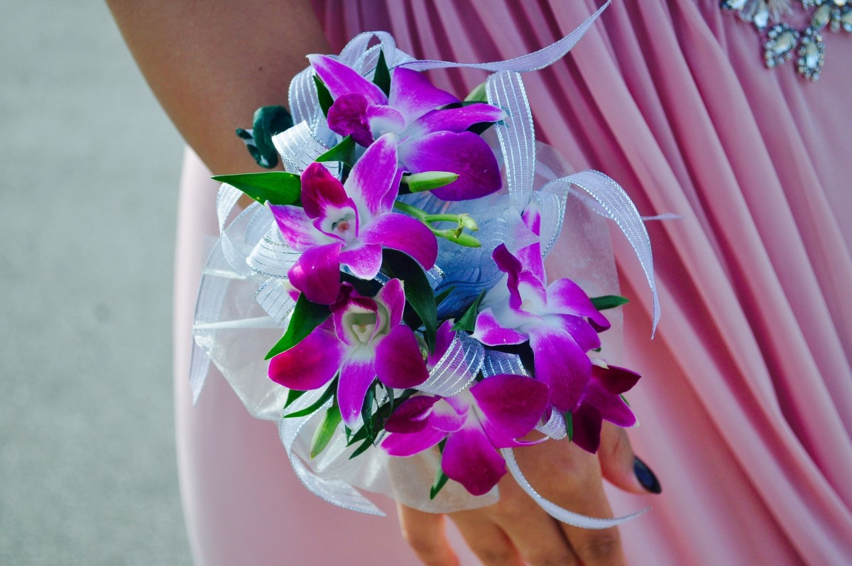 Another lovely wrist corsage