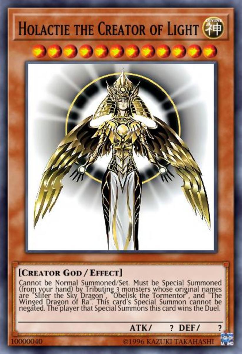 Holactie the Creator of Light