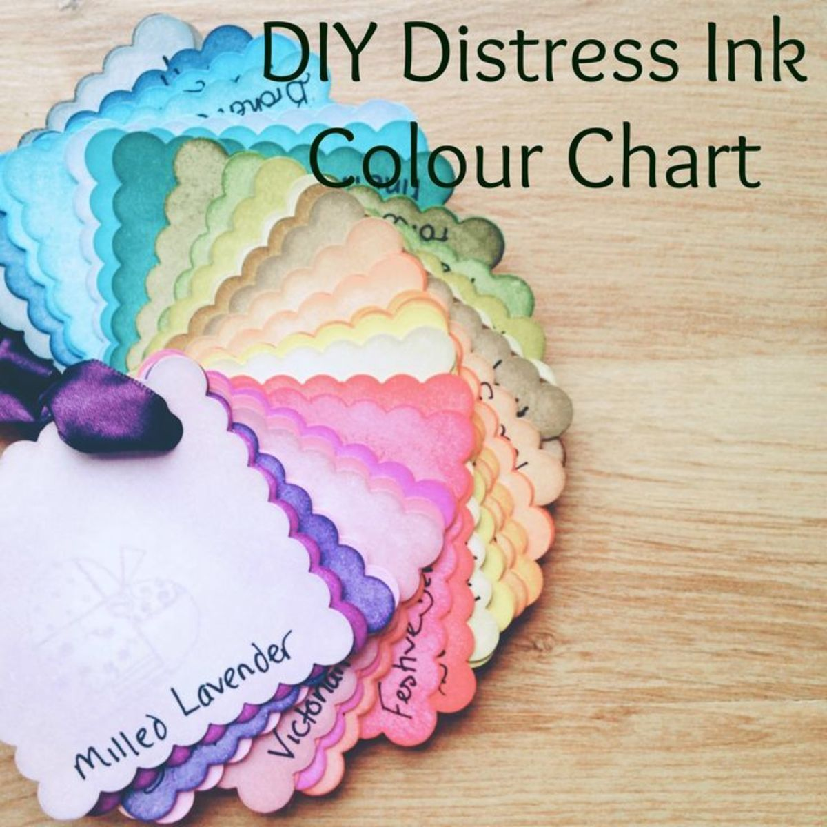 The Distress Ink Sprays come in the same colors as the Distress Ink Pads
