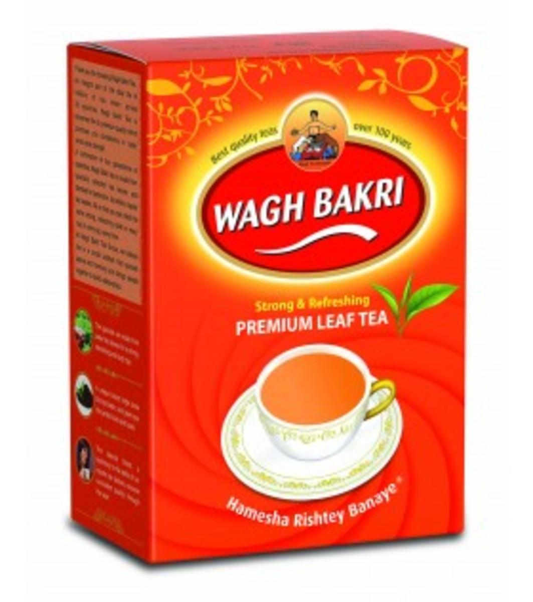 Carton WB Tea Brand
