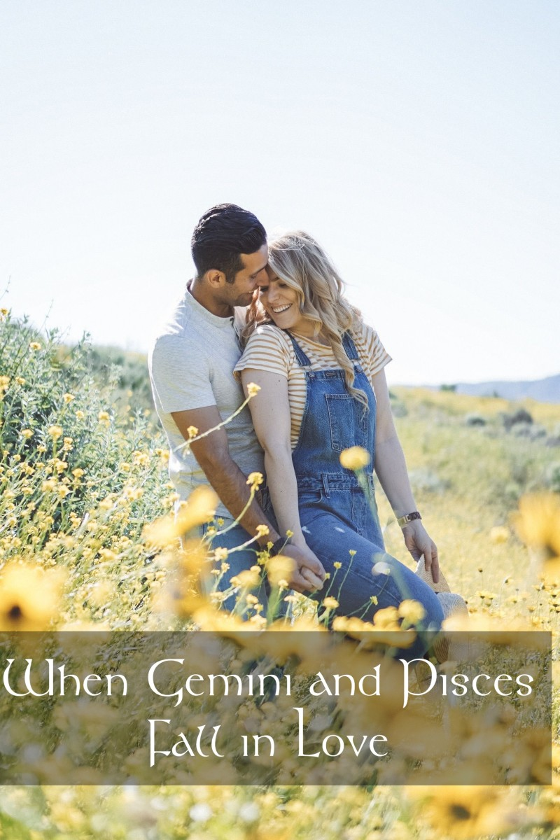 Gemini and Pisces find a world of charm, delights, and magic together. They have the ability to bring out what's best in each other.