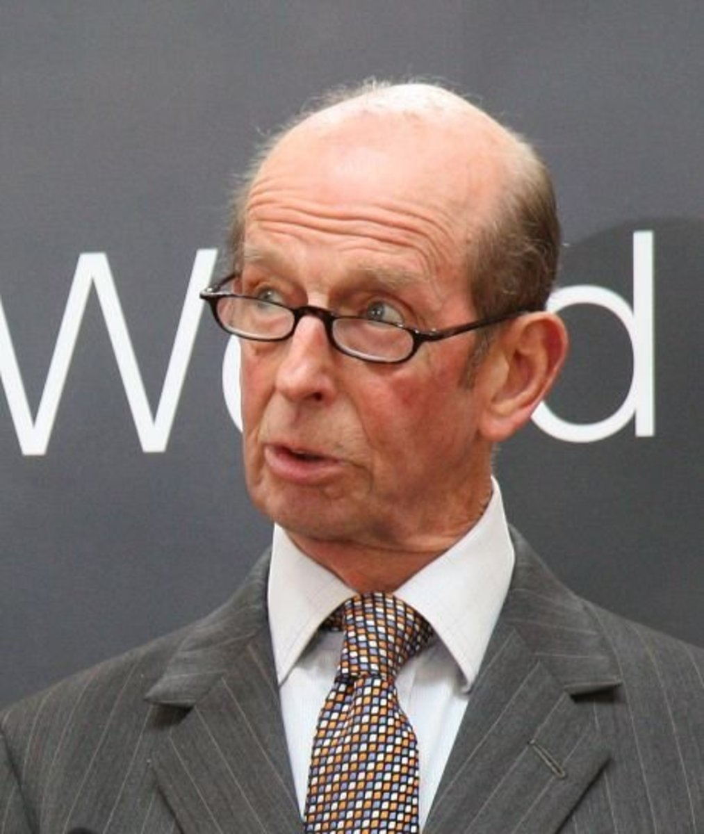 The current Duke of Kent, born in 1935. When his father George died in a plane crash in 1942 Edward inherited the dukedom.