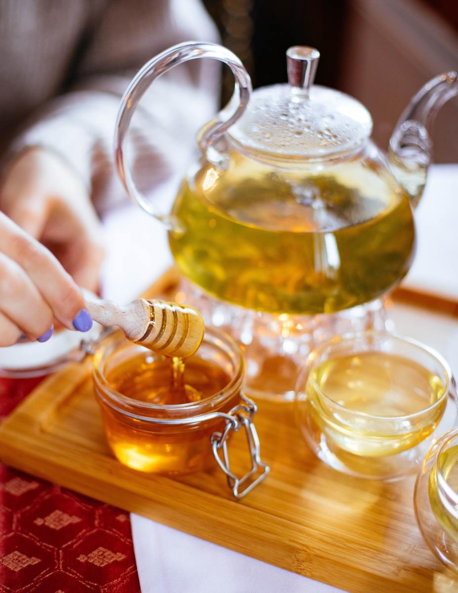 Lemon Honey Tea