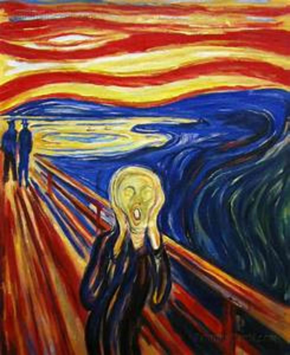 The Scream....the wonder and beauty of Art