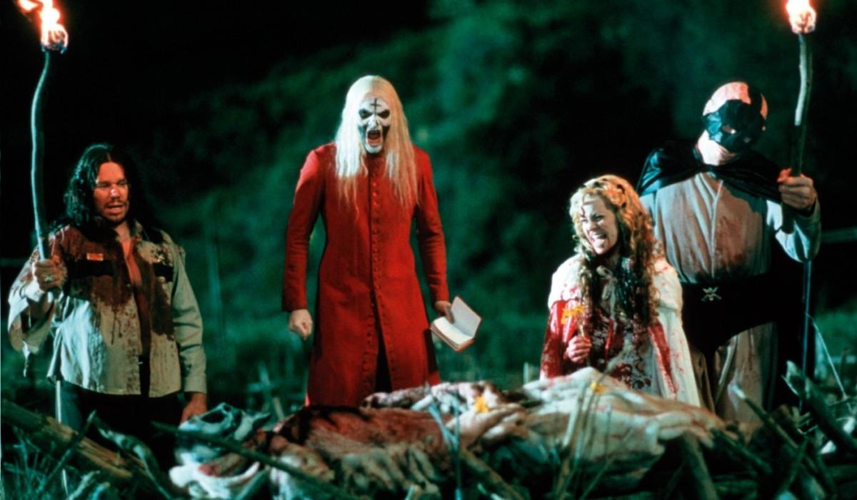 The killer family (Robert Mukes, Bill Moseley, Sherri Moon, Matthew McGrory)