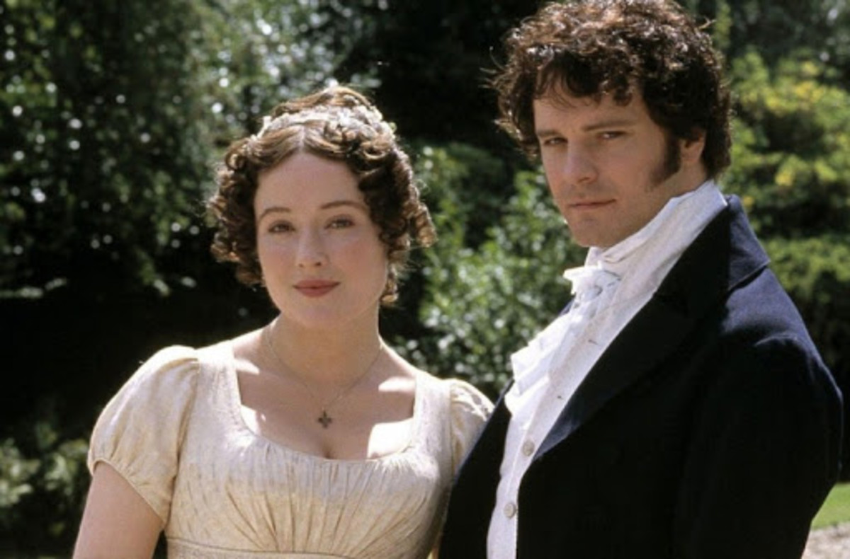 Still from the BBC TV Serie Adaptation of Pride and Prejudice (1995)