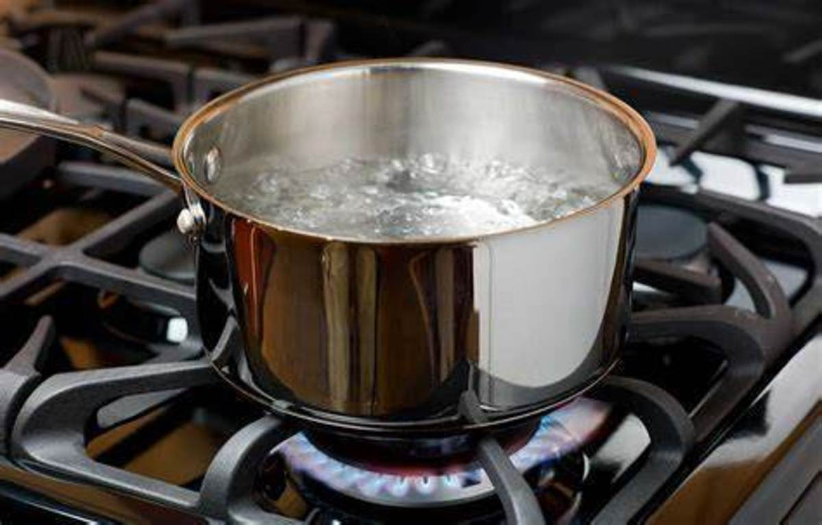 Beware of when it comes to a boil.