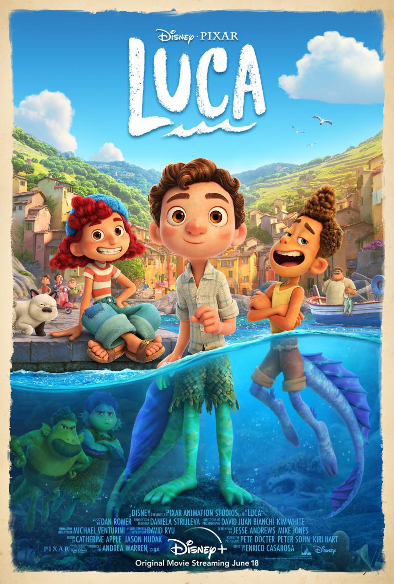 """Luca"" Poster"