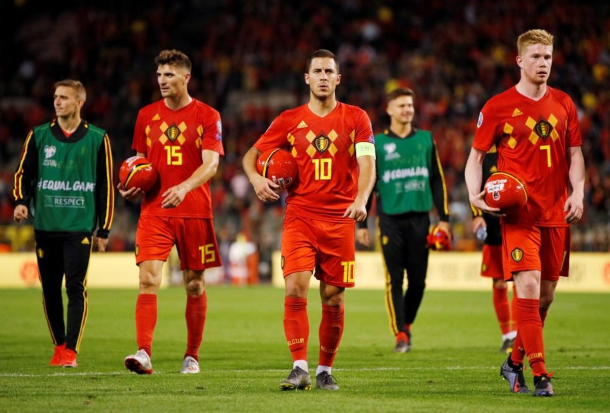 An out of sorts Eden Hazard could hinder Belgium's title hopes this time.