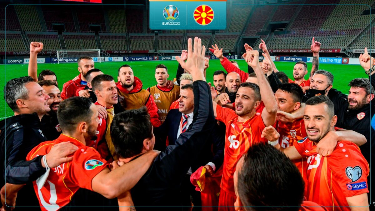 The Macedonians will aim to score their first points in the European Championships