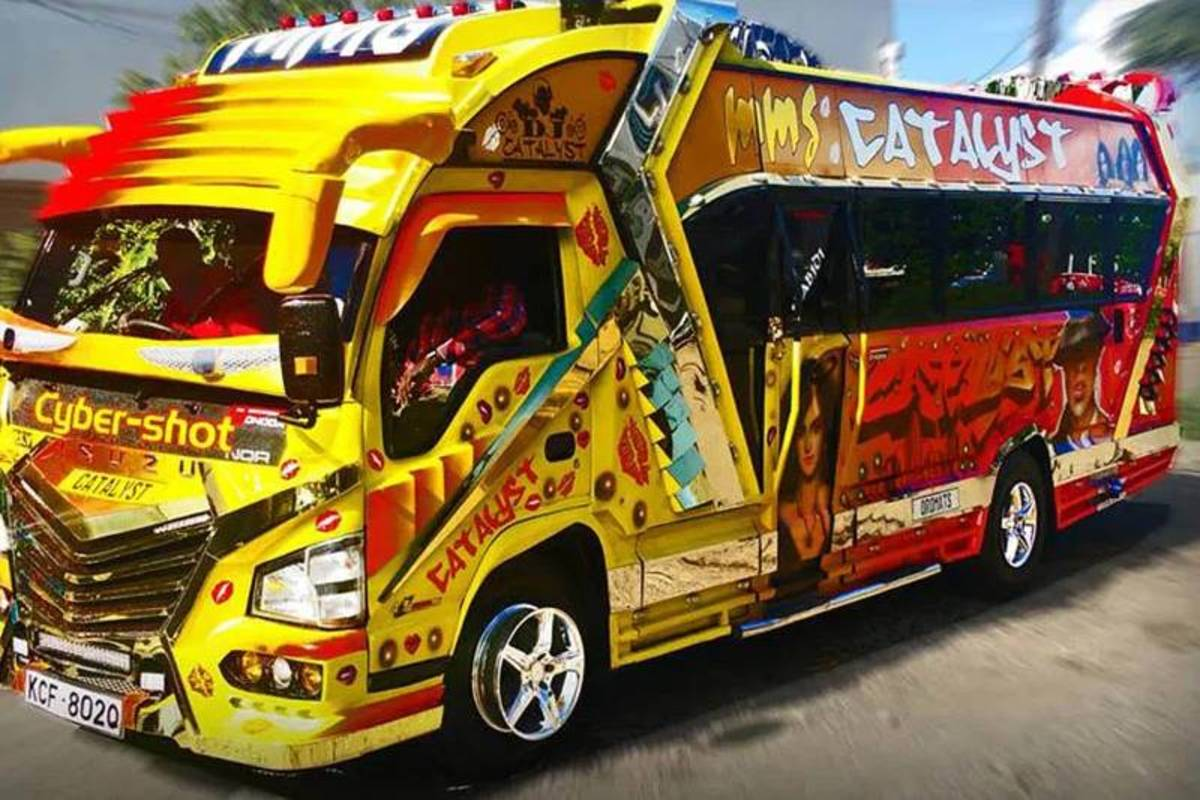 Party buses come in various sizes and creative designs.