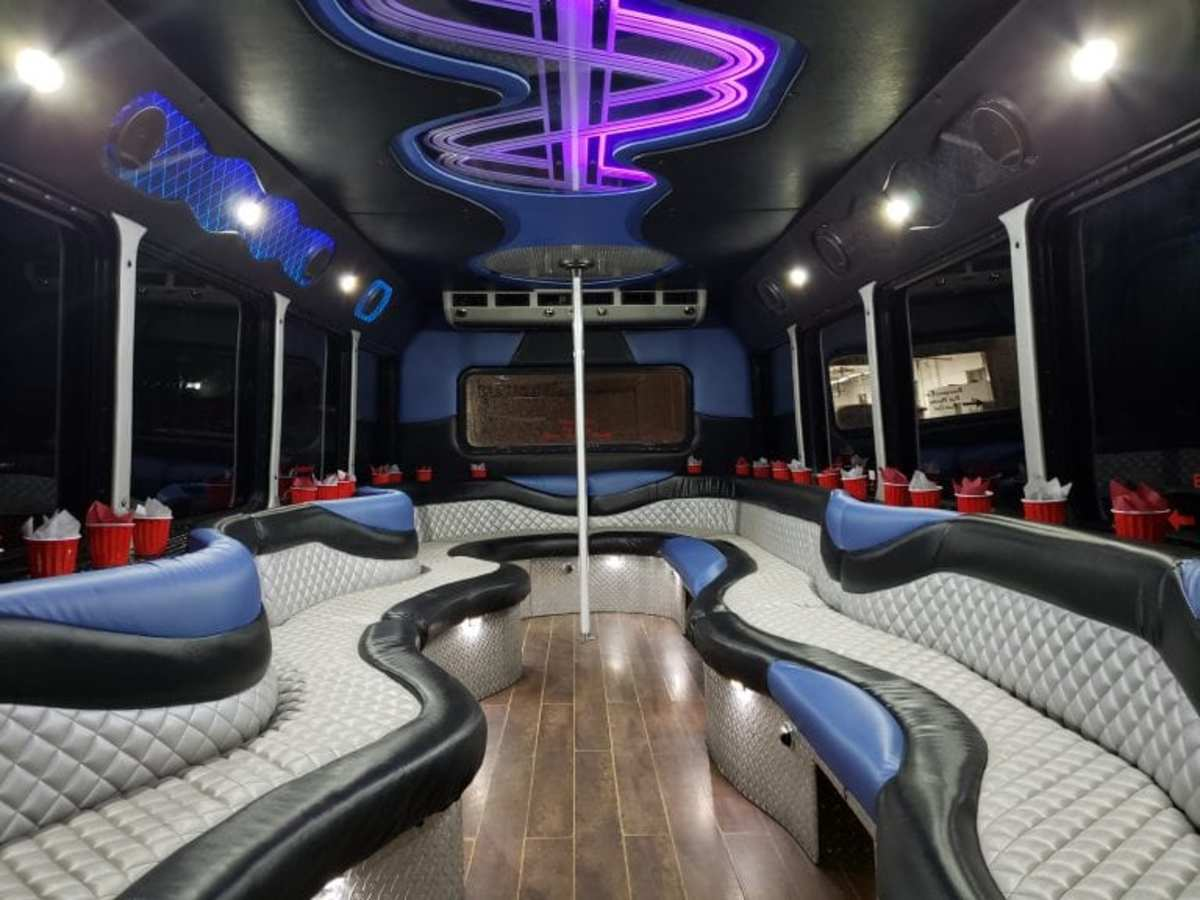 Shop for a reputable company nearest to you when searching for a party bus