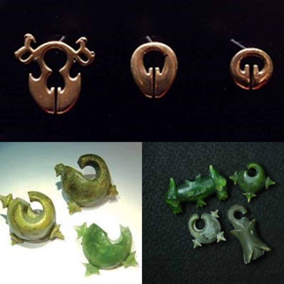 Lingling-o nephrite artifacts