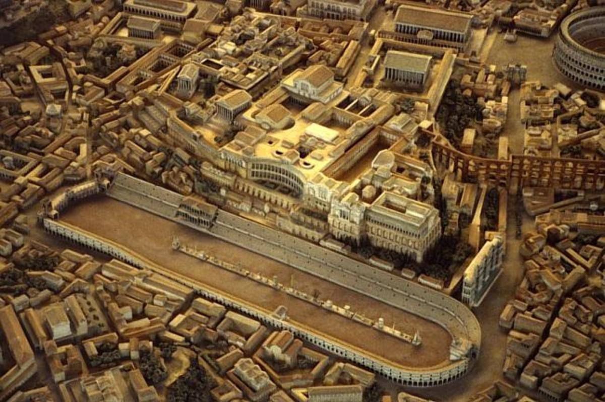 The true circus maximus was the site of chariot racing, gladiator fights, animal contests and a host of other events.