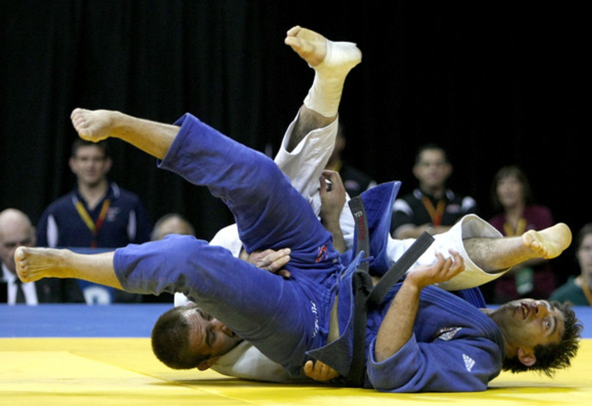Wrestling in the Olympics started in Greece and is in the modern venue.