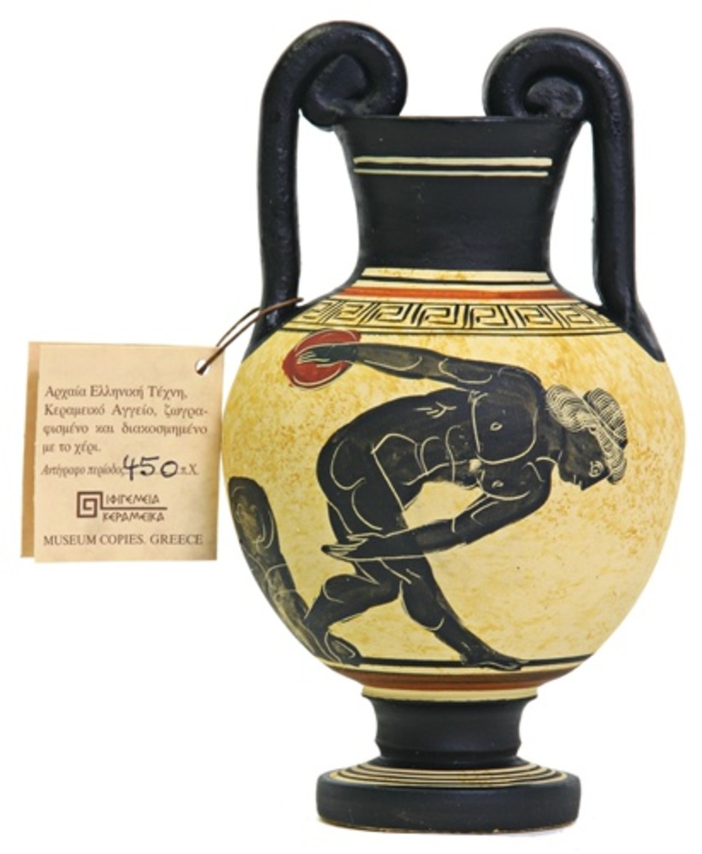 The people of Greece did publish their sports heroes on pottery that survive to this day. Some sports memorabilia!