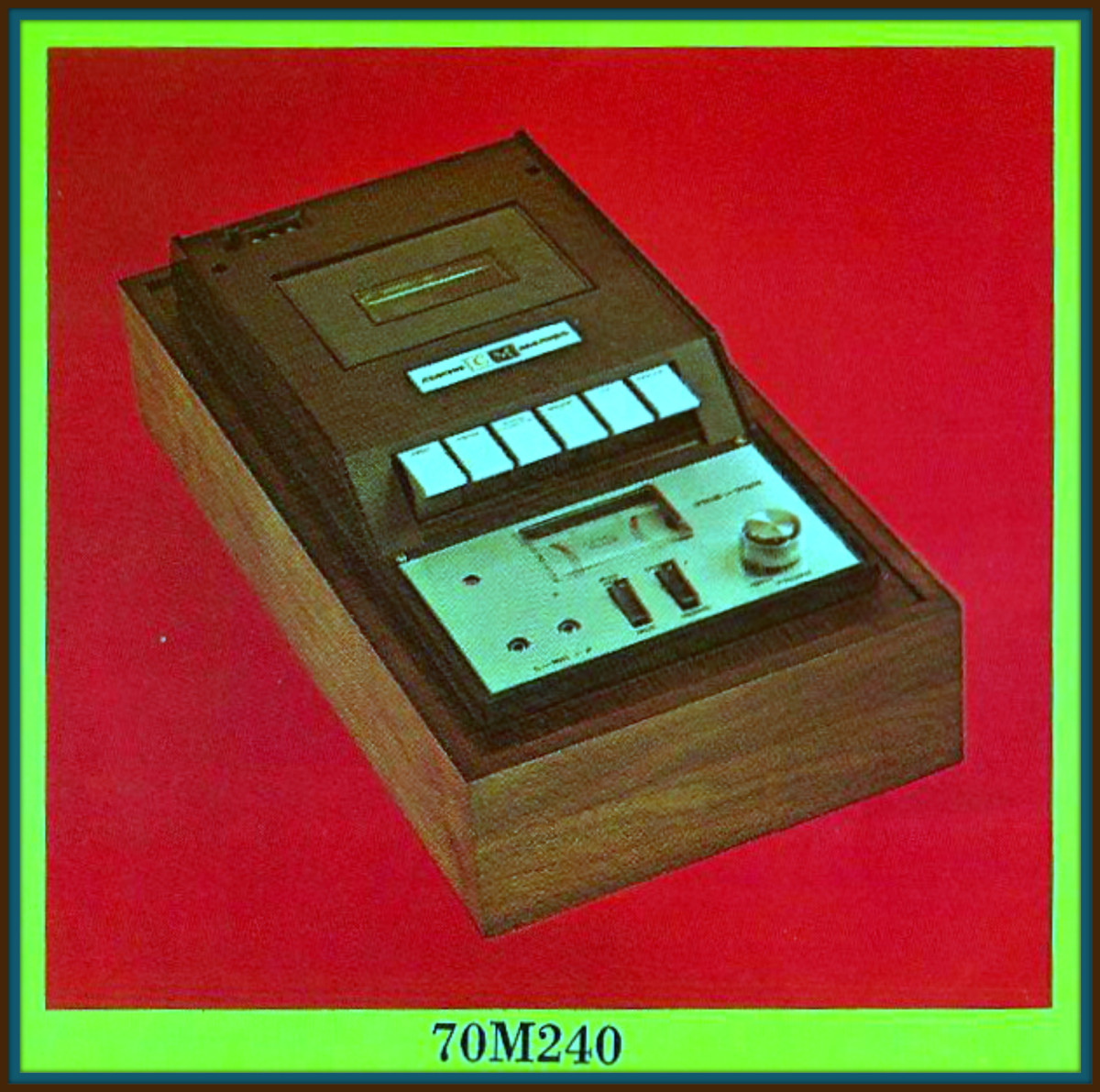 In 1967 for the first time Curtis Mathes offered a heavy duty stereophonic cassette in its line. With recording as well as playback capabilities.