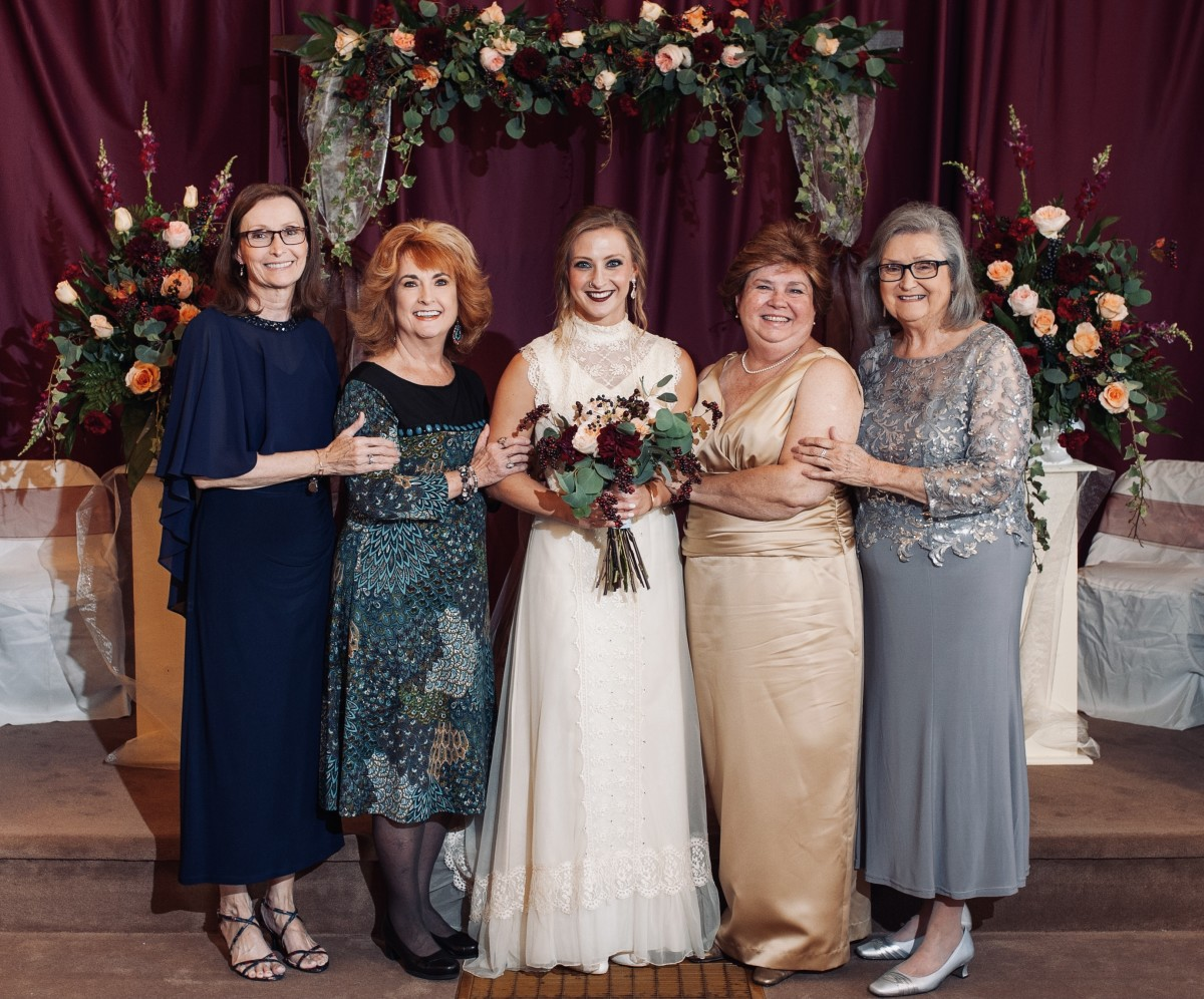 These women are the reason I am strong-willed and are my most constant heroes.