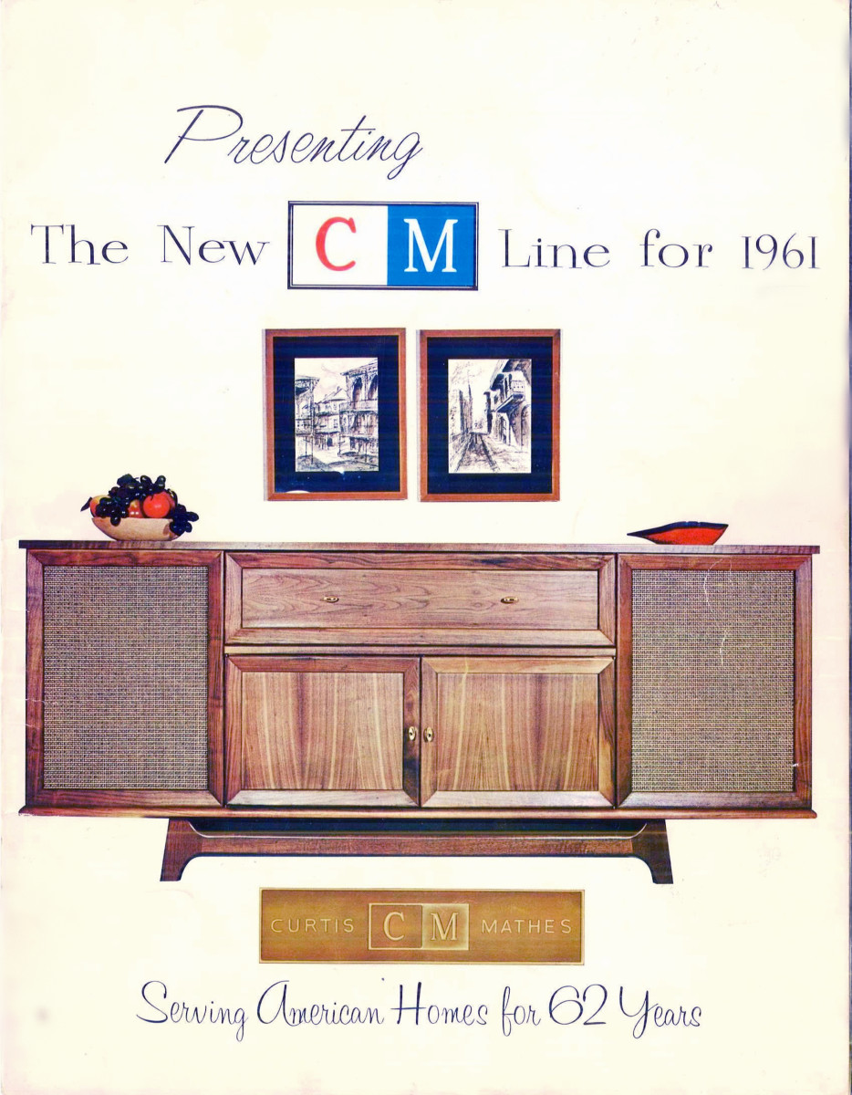 Presenting the Line New CM LIne for 1961, the Royal Dane was on the Cover