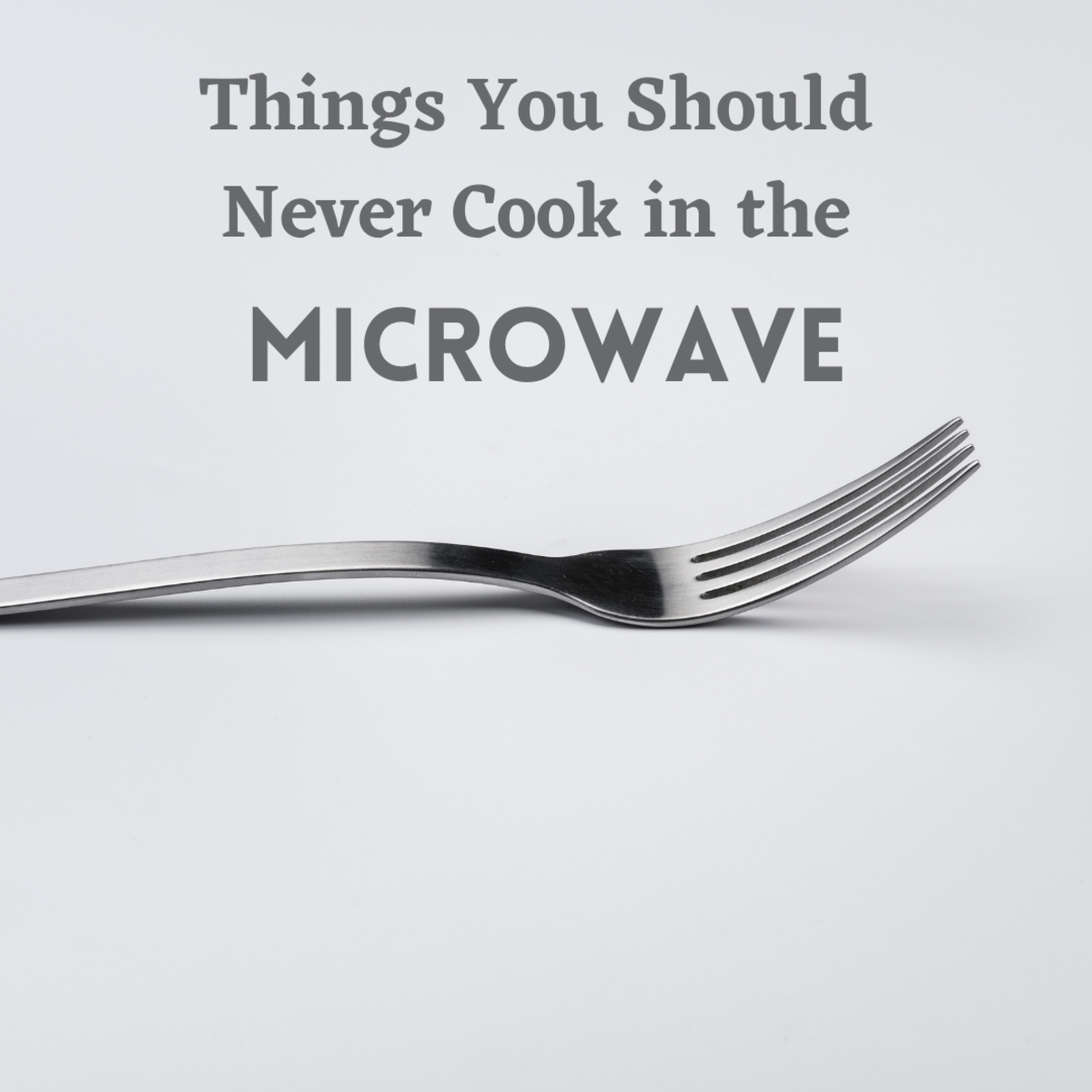 We all know about metal kitchen utensils, but what are some other things that shouldn't go inside the microwave?