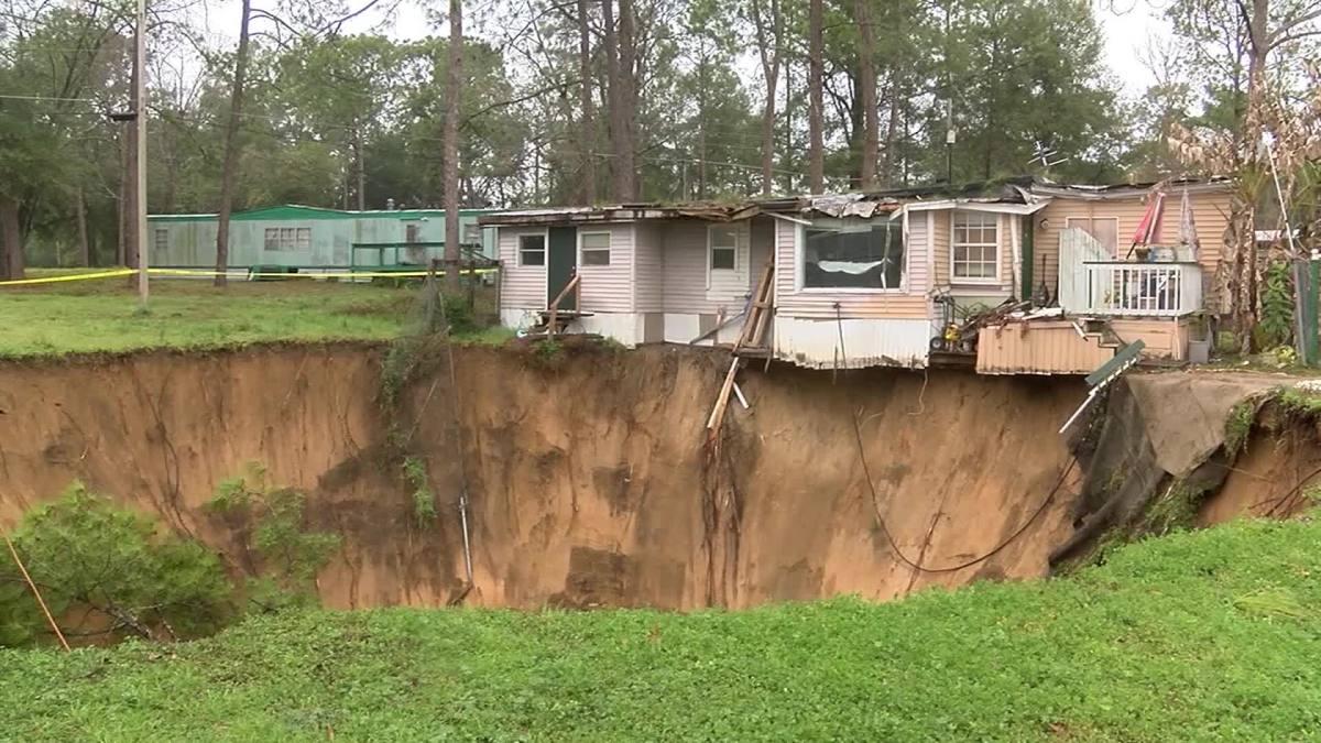Sinkhole Under House