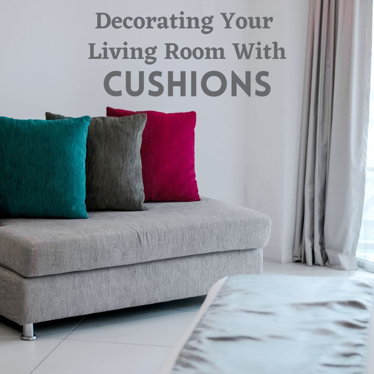 Cushions can really transform your living room—here's how!