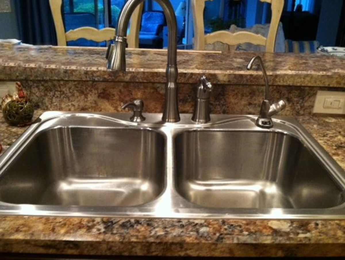 Keep that kitchen sink spotless