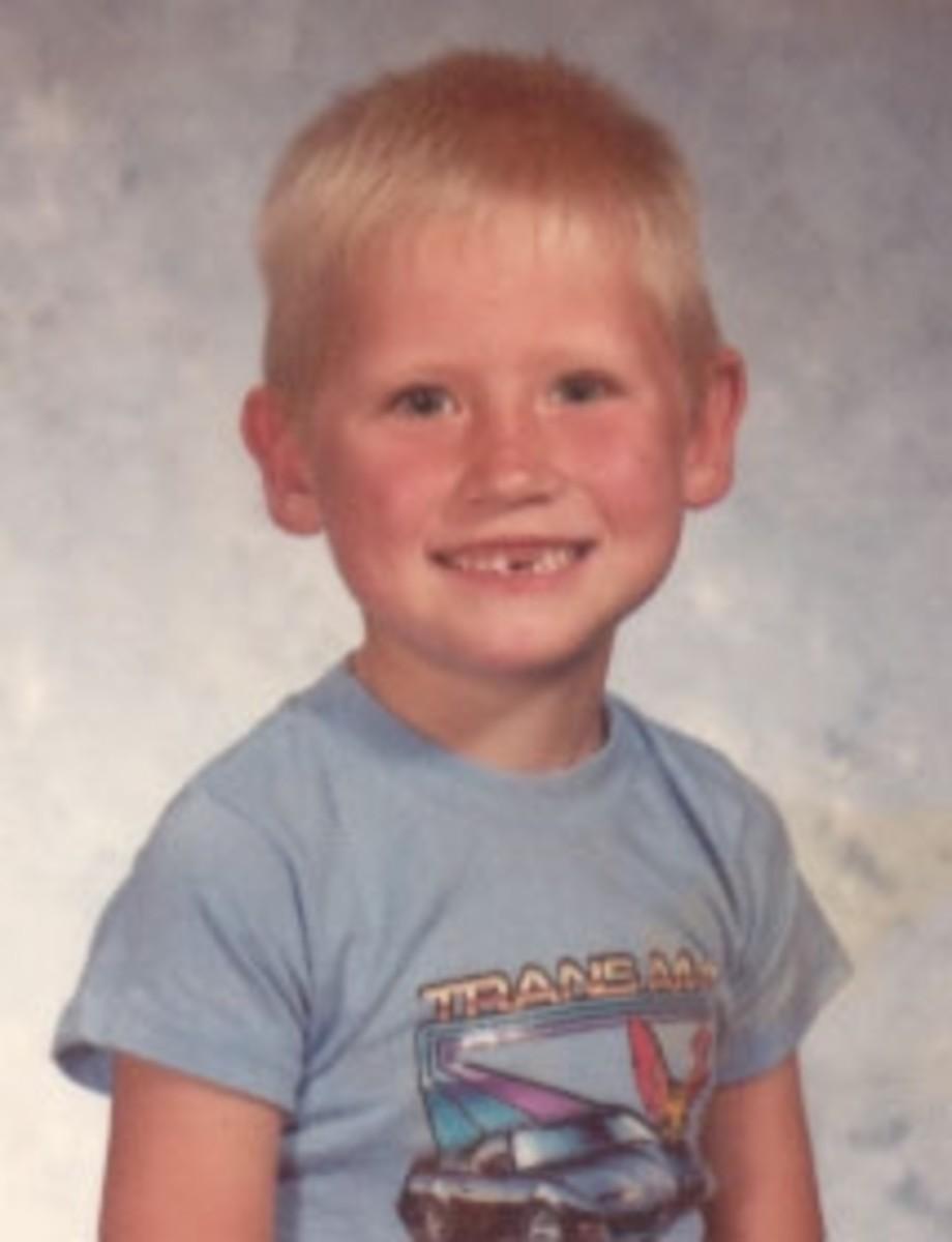 Jason at age five.