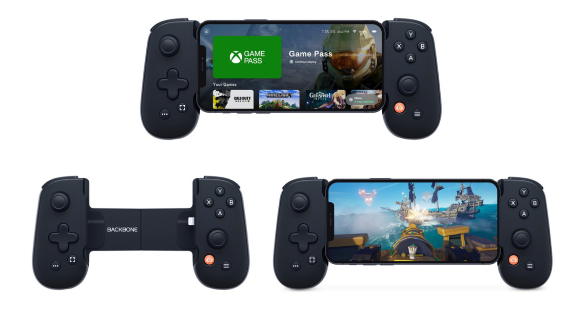 The Backbone One Mobile Controller for iPhone
