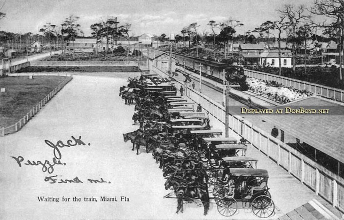 First Railroad in Miami