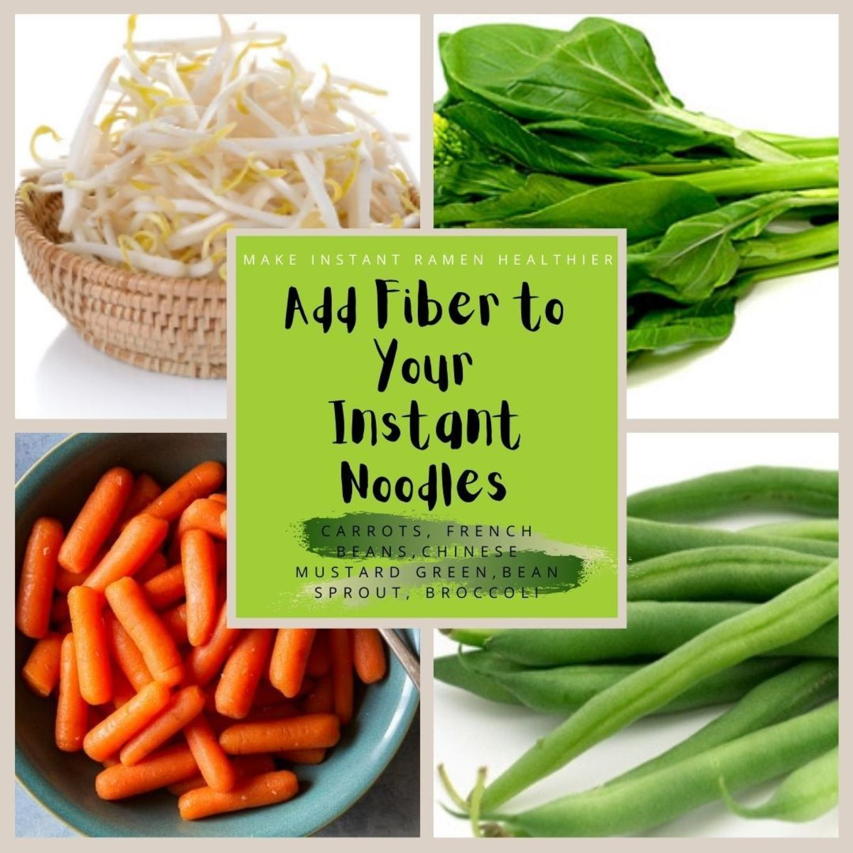 How to make noodles healthy? By adding fiber