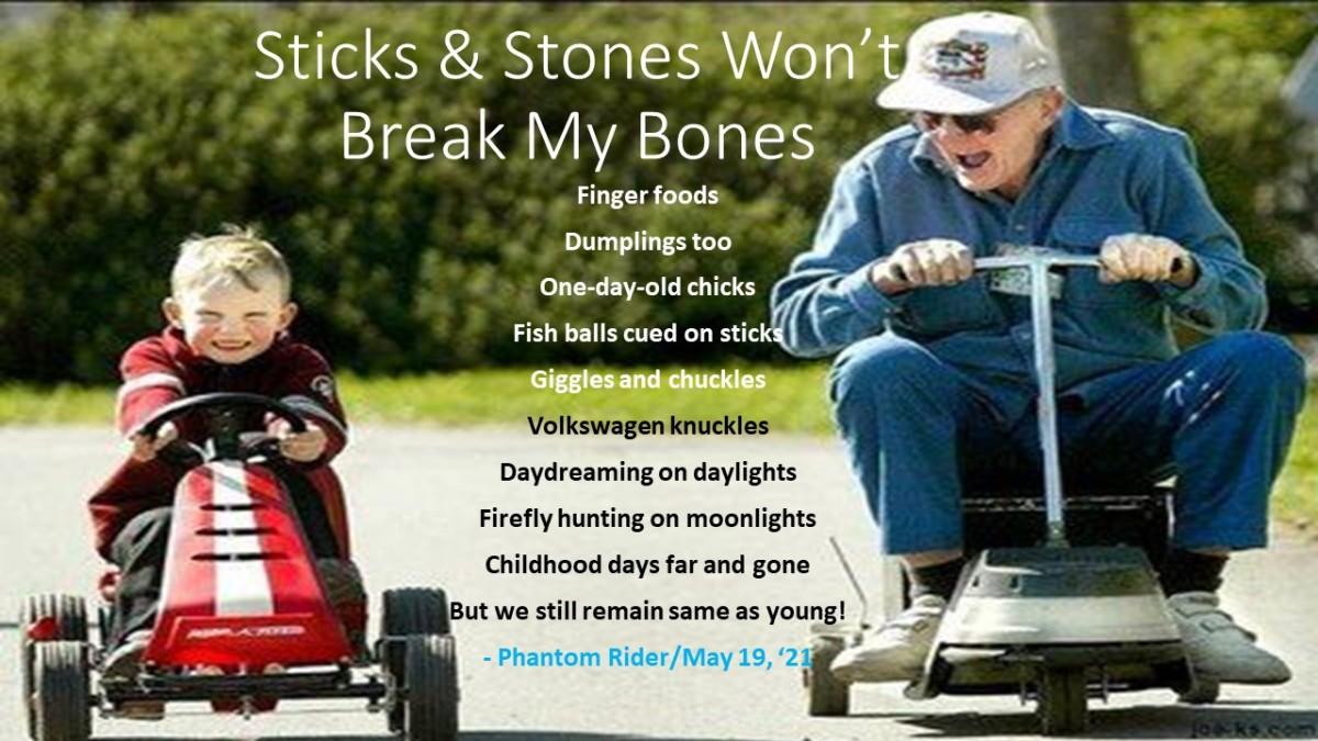 Sticks & stones won't break my bones