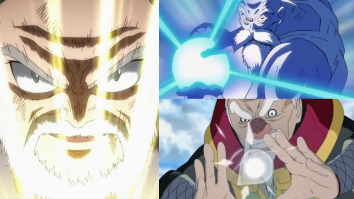 7 Toughest Old Timers in Anime