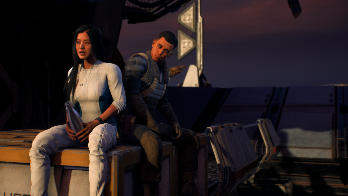 My Ryder confesses that she regrets coming to Andromeda.
