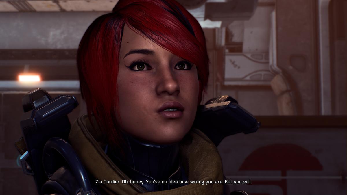 My screenshot of Zia, Reyes' ex-girlfriend.