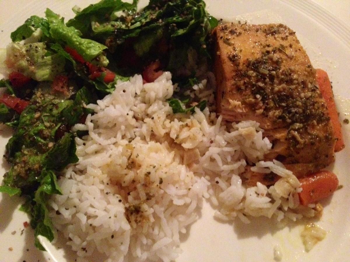Yummy Healthy Baked Salmon Recipe