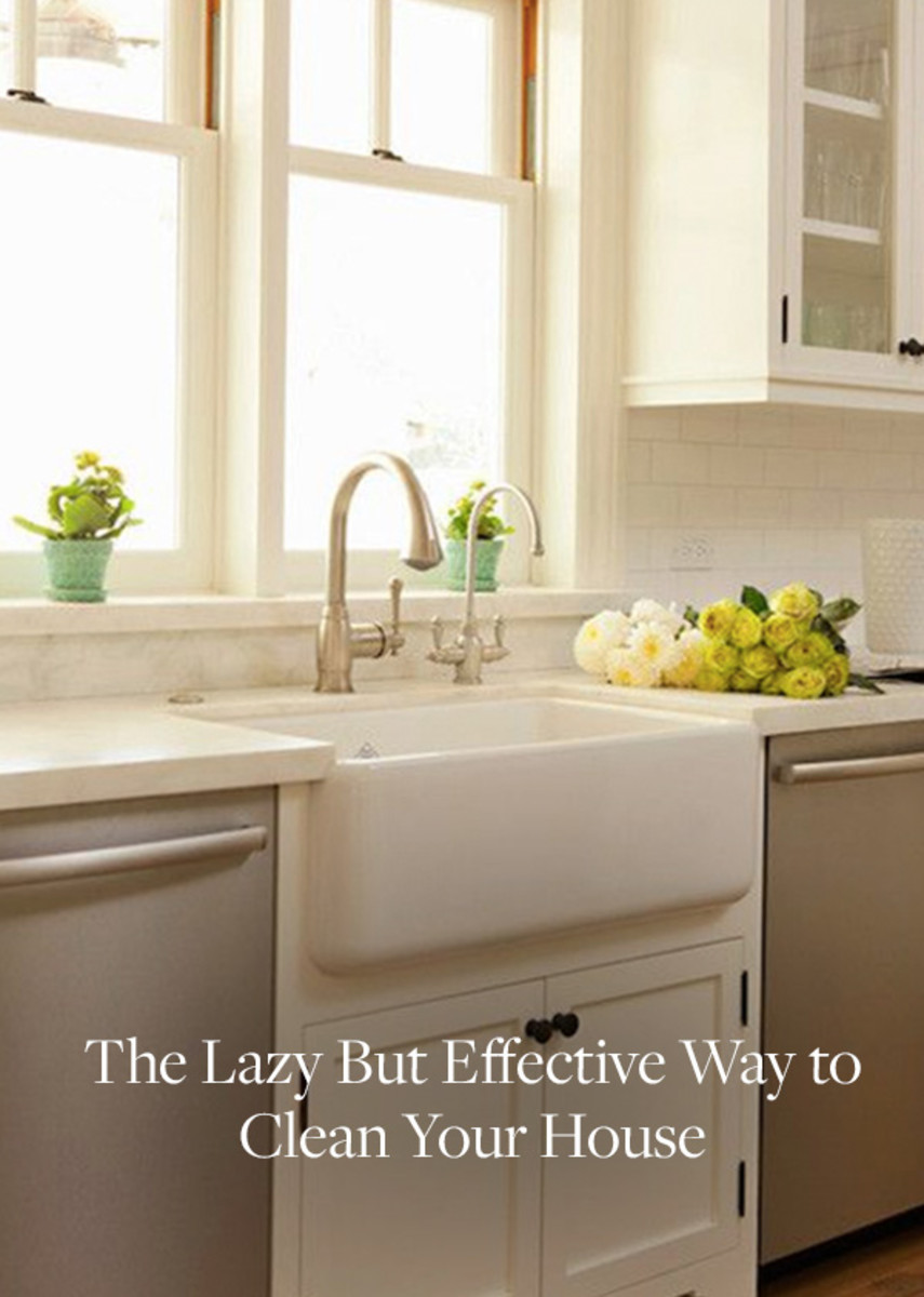 The Lazy But Effective Way to Clean Your House!